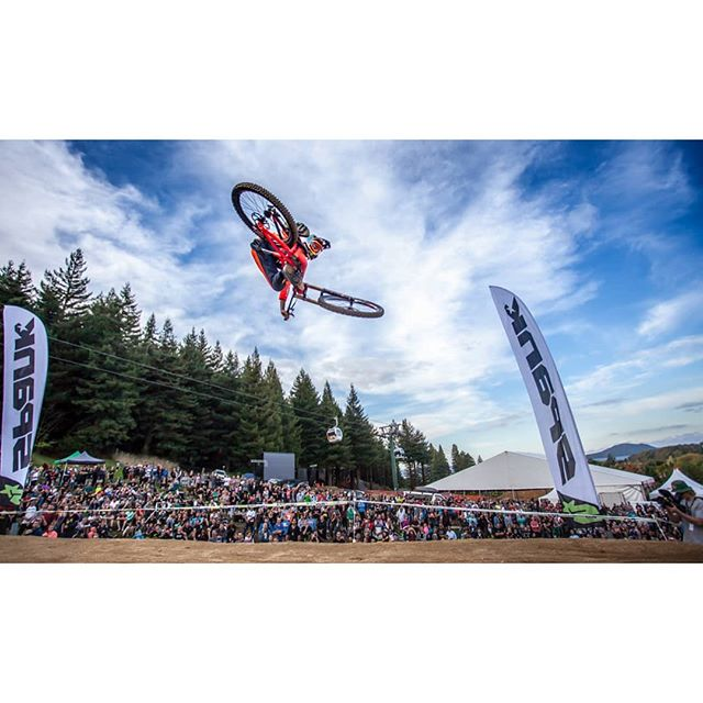 Throwback to the first @crankworx Rotorua! Whip-off 2015