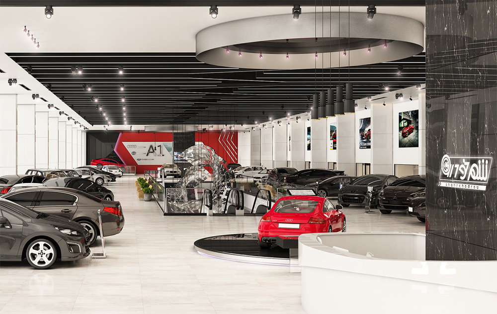 "SHOWROOM AUTOCENTER ""Shahr Khodrou"", 2nd floor  Tehran, Iran 2016-2017"
