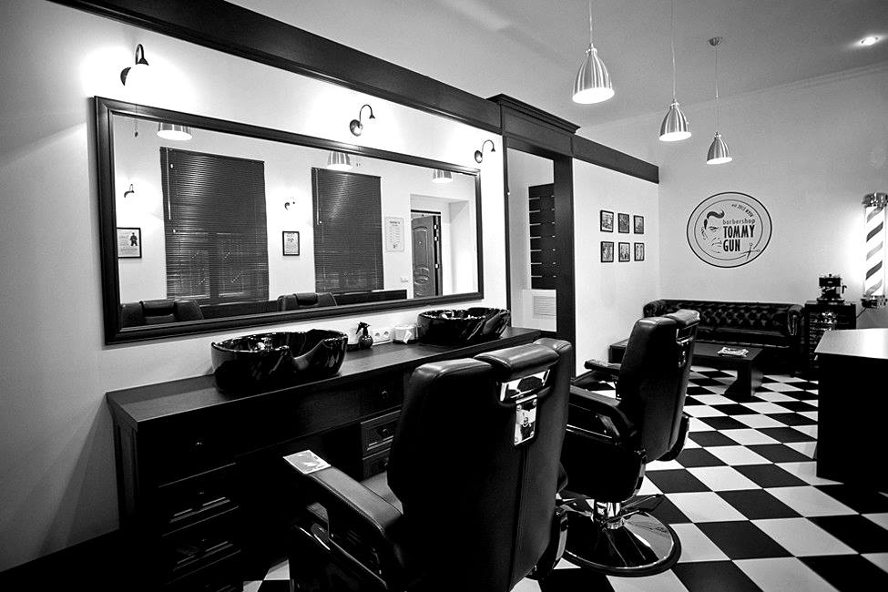 INTERIOR BARBERCHOP  Kyiv, Ukraine 2013