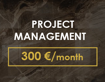 PROJECT MANAGEMENT - 300 USD / month  - Control of technical compliance of completed construction works to the developed project. - Selection of all necessary finishing materials, furniture, lamps, sanitary ware. - Communication with contractors and builders, approval of necessary project details. - If necessary, make adjustments to drawings after major dismantling and installation work. - Regular informing the customer about the progress of work and progress achieved, consultations on how to solve the emerging issues. - 7-8 visits per month (facility, shops, production).  Quality control of repair work from our studio minimizes the likelihood of constructive errors on the site, will enable timely corrections, if necessary for technical and technological reasons. Our timely assistance with the installation of the facility will free up your personal time and help avoid delaying the repair time. Author's supervision at the site is made before the delivery of the facility or at a certain stage of implementation (by agreement).