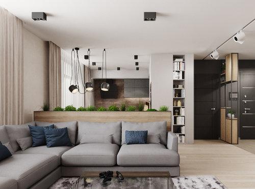 APARTMENT IN STYLEeco-minimalism - Interior design of a three-room apartment.KievArea - 98 sq. m