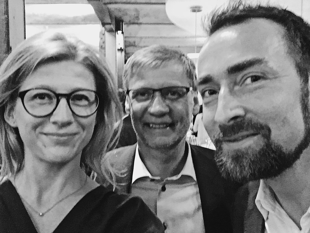 TV star and winemaker Günther Jauch posed with us for this picture during the Riesling Swag in Hamburg in January 2017.