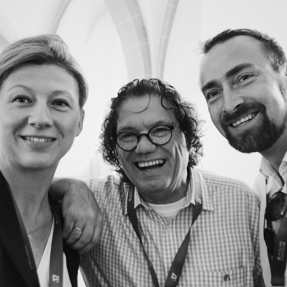 We met the always positive Ernie Loosen from winery Dr. Loosen at the International Riesling Symposium in Kloster Eberbach.