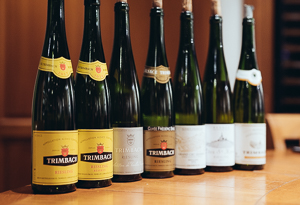 Our line up at Trimbach. -