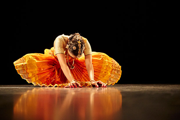 London-based Bharatanatyam dancer Seeta Patel