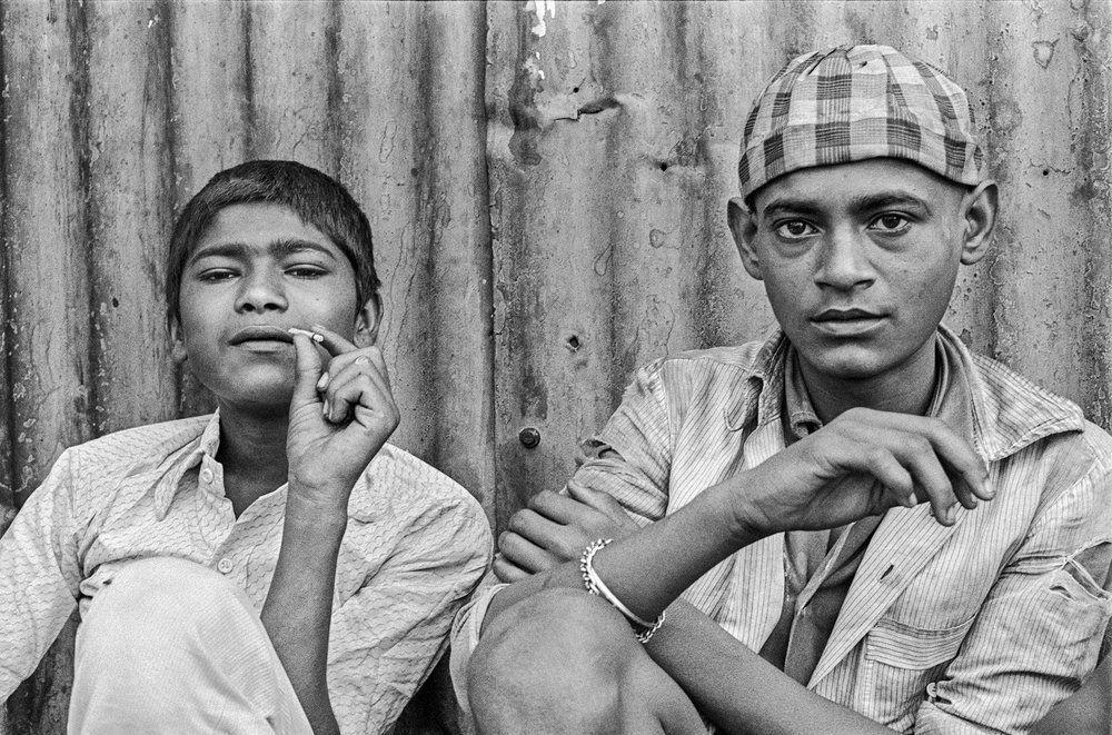 Salim and Tukloo Bombay 1987 by Sooni Taraporevala