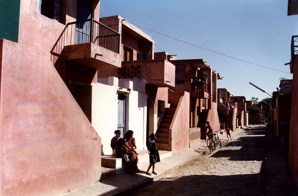 Aranya Low Cost Housing, Indore (1989) – photos Photos courtesy of VSF