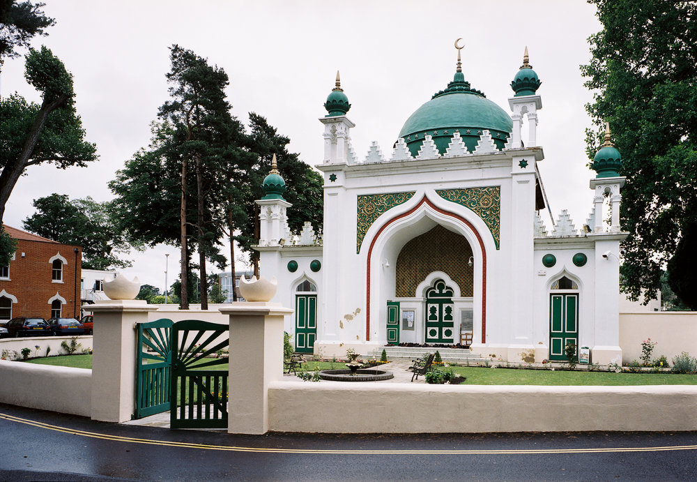 The Shah Jahan Mosque,Woking, was commissioned by Dr Gottlieb Leitner, designed by William Isaac Chambers and completed in 1889