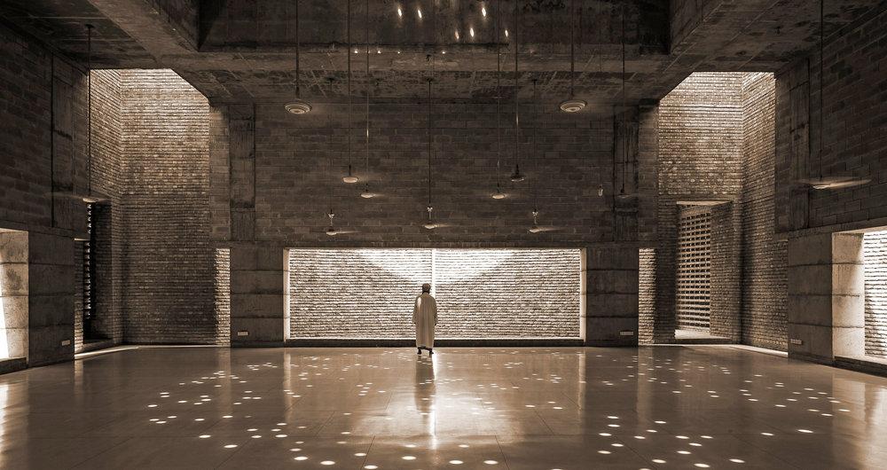 Marina Tabassum, Bait Ur Rouf Mosque Prayer Hall