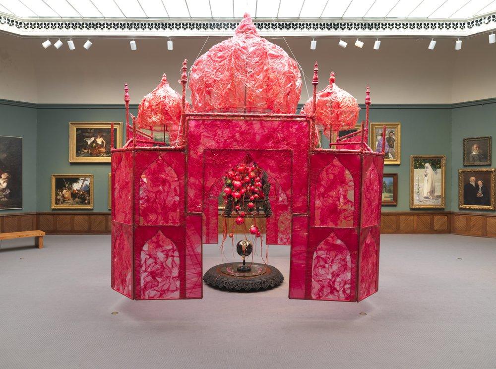 Take me take me take me…to the Palace of Love, Rina Banerjee. Courtesy of PAFA/Barbara Katus.