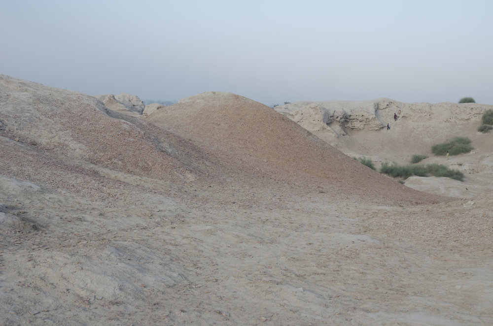 Mound in Punjab, Pakistan.Photograph: Ali Kazim
