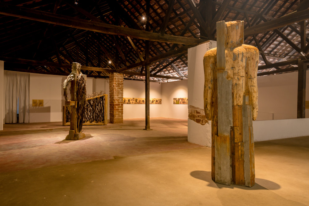 Arun Kumar, installation view at Kochi-Muziris Biennale 2018, courtesy of Kochi Biennale Foundation