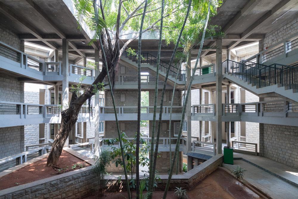 Indian Institute of Management, Bangalore, 1977, 1992 © Iwan Baan 2018