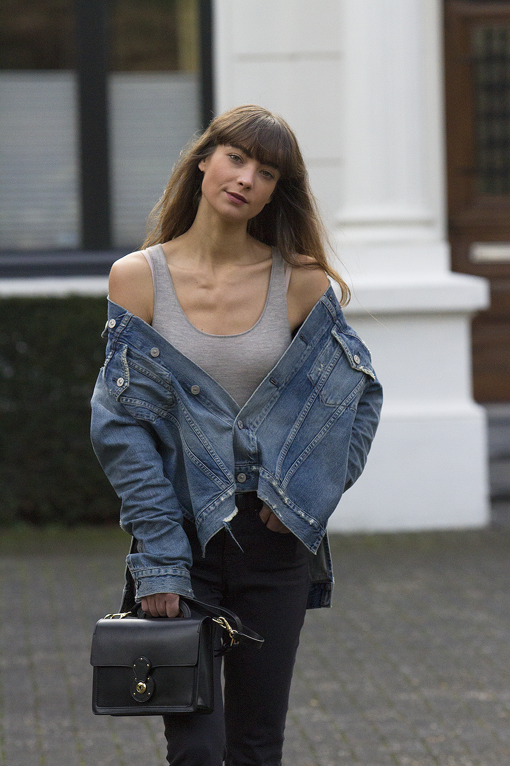 CoH denim jacket, Ralph Lauren top and bag, AYR denim, Manfield boots - Modedamour .png