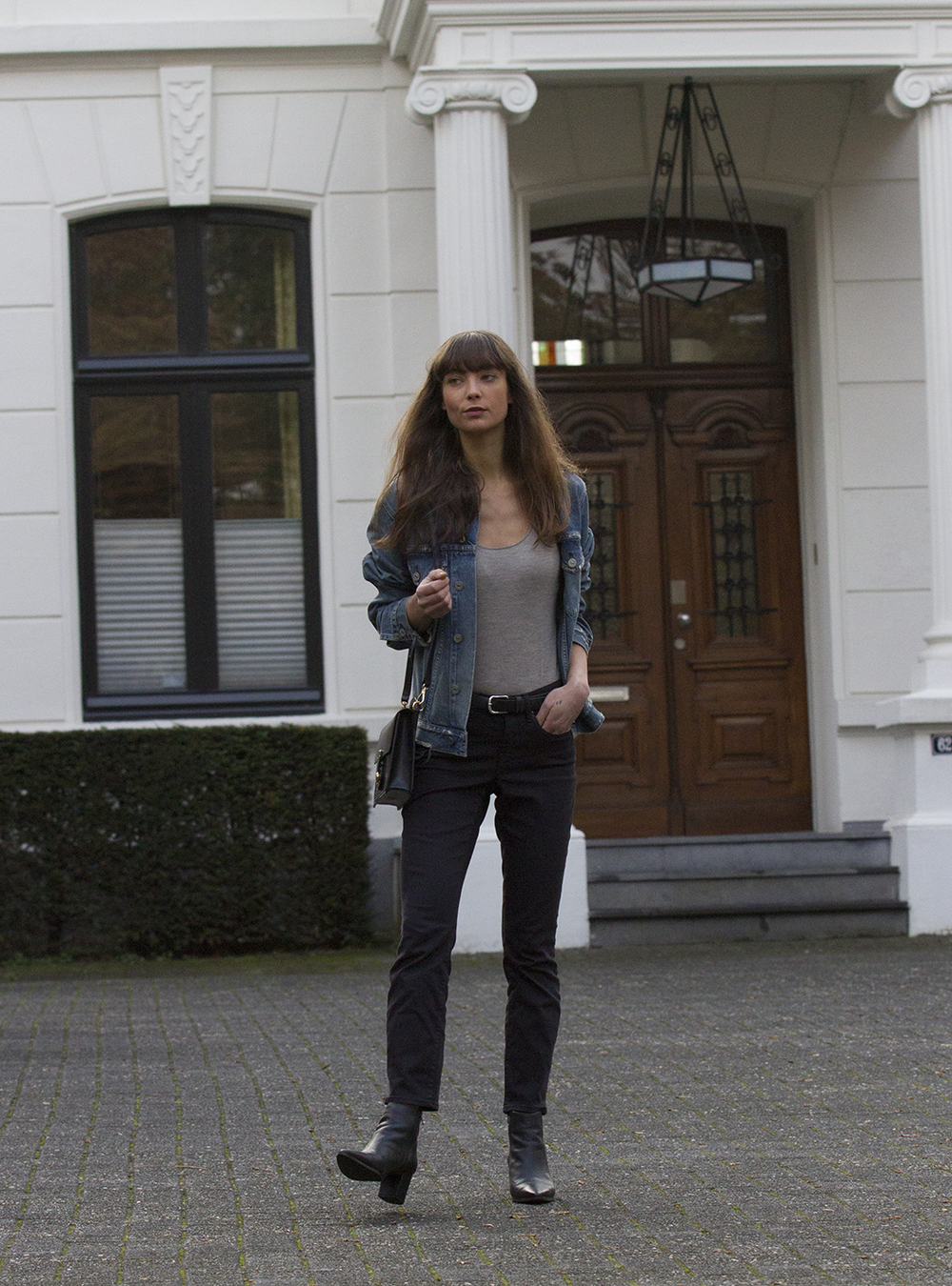 CoH denim jacket, Ralph Lauren top and bag, AYR denim, Manfield boots - Modedamour 6.png