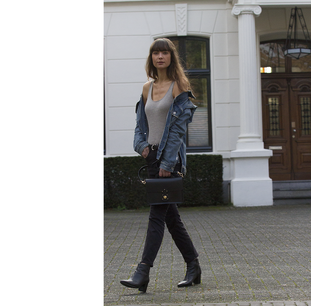 CoH denim jacket, Ralph Lauren top and bag, AYR denim, Manfield boots - Modedamour 10.png