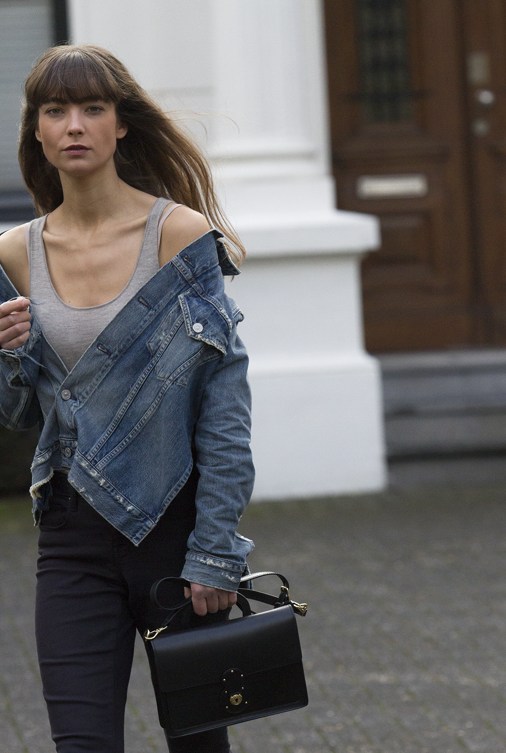 CoH denim jacket, Ralph Lauren top and bag, AYR denim, Manfield boots - Modedamour 13.png