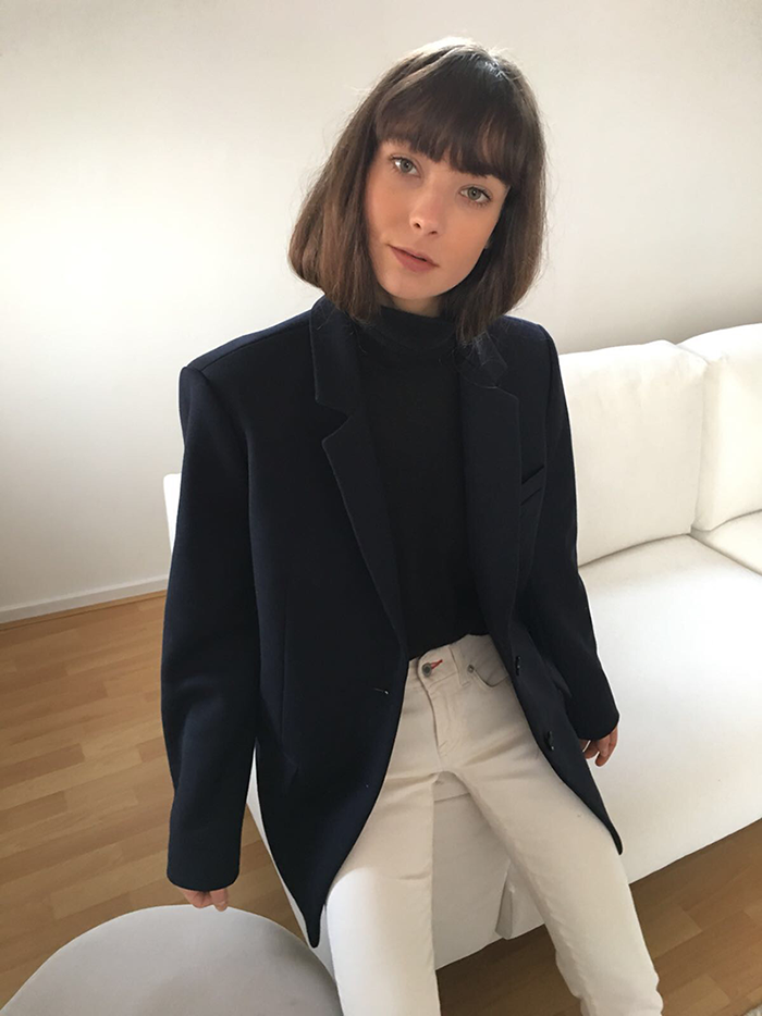 Zara blazer - Ralph Lauren turtleneck and denim - Gucci loafers 3.png