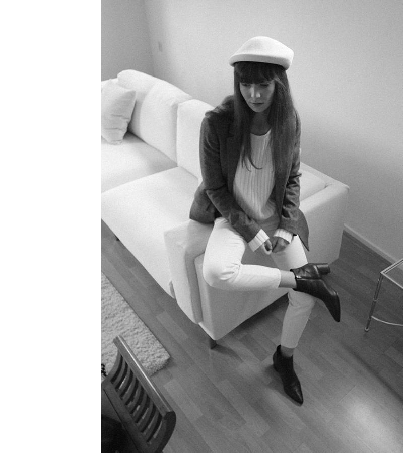 janessa leone hat - zara blazer - ralph lauren jeans - manfield boots 3.png