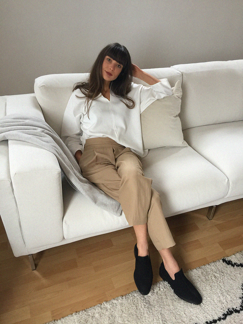 COS shirt and flats - Massimo Dutti trousers 5.png