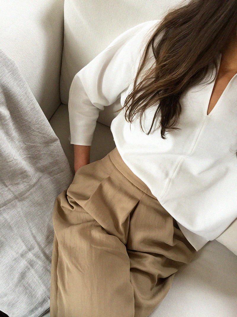 COS shirt and flats - Massimo Dutti trousers 8.png