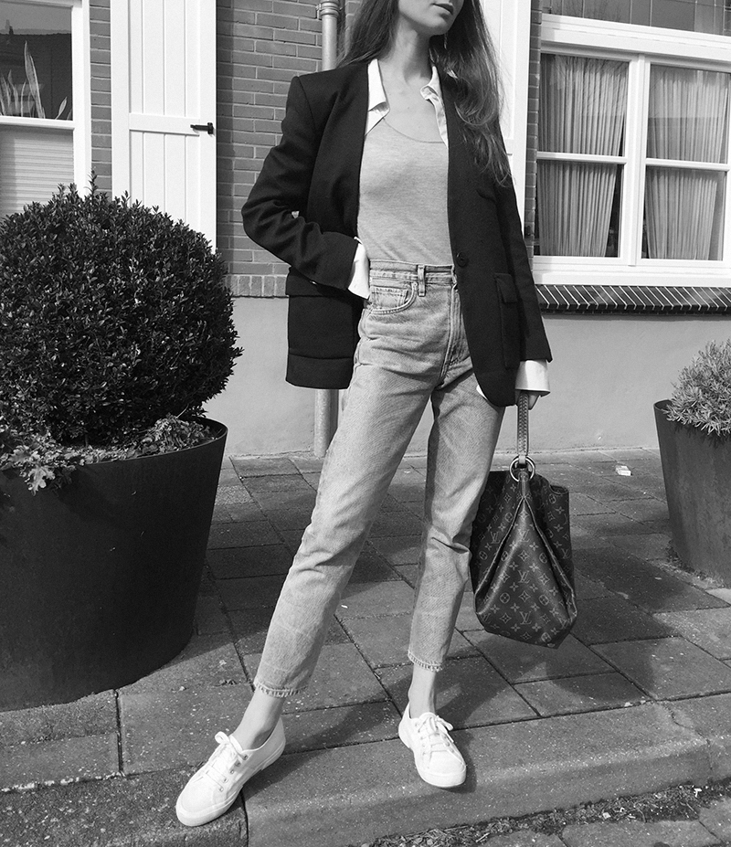 By Malene Birger blazer, COS shirt, Ralph Lauren top, CoH jeans, Superga sneaker, Louis Vuitton bag 2.png