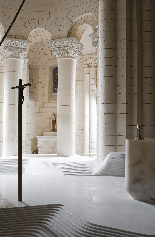 St. Hilaire church in Melle by Mathieu Lehanneur.png