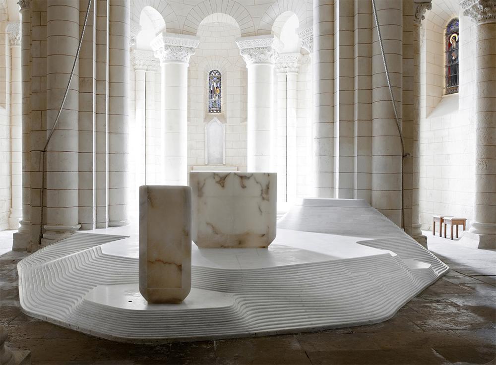 St. Hilaire church in Melle by Mathieu Lehanneur 15.png