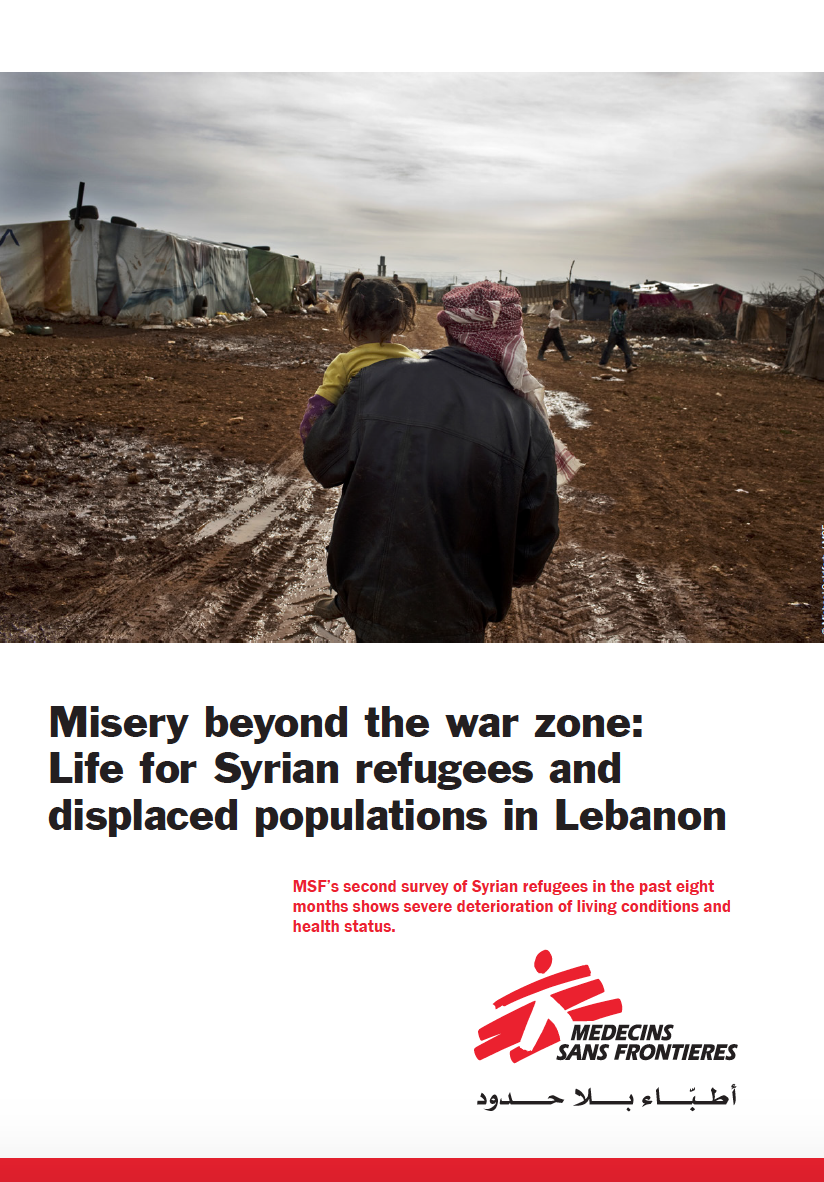MSF - Misery in Lebanon for Syrians.png