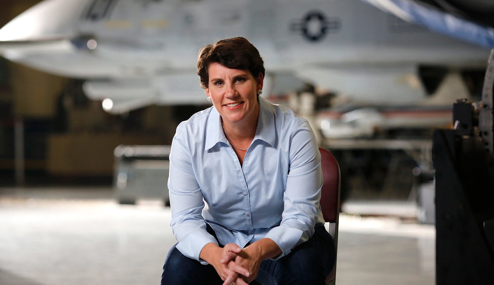 "Amy McGrath - ""I put my life on the line in 89 combat missions, and while this campaign may be my first in politics, it is my 90th mission for the people of Kentucky and our country."""