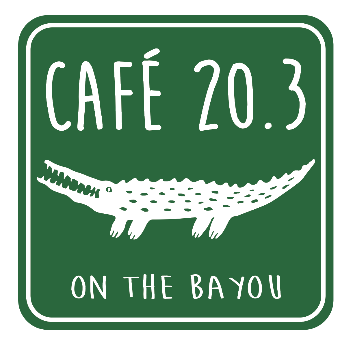 Cafe 20.3 on the Bayou