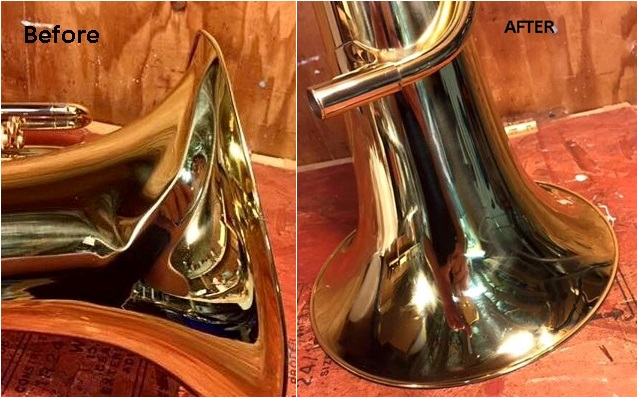 A smoothed out Euphonium bell