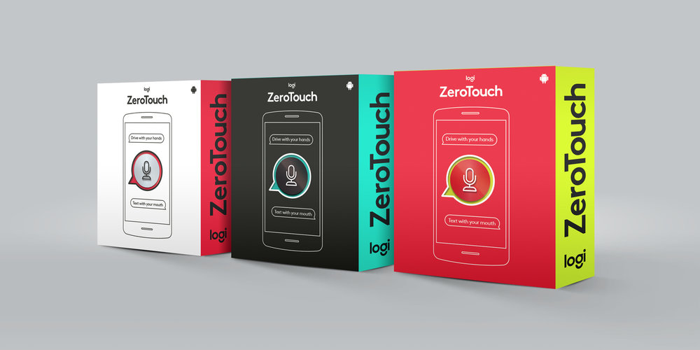 Logitech ZeroTouch: Packaging