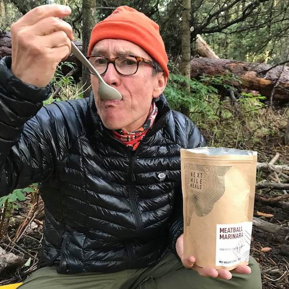 Keto backpacking with the Forest Service