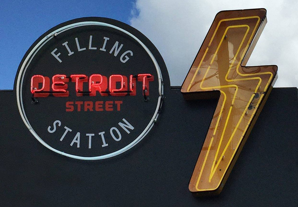 ABOUT US - Our third location: Detroit Street Filling Station