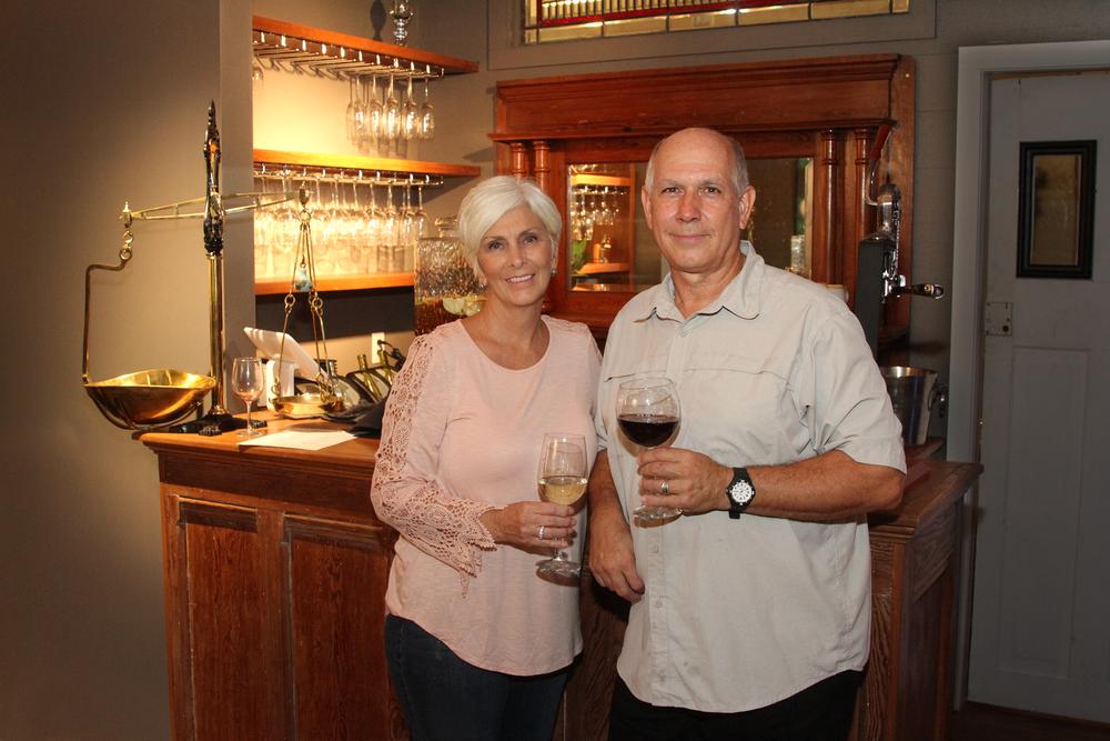 Chefs Kathy and George Valtasaros
