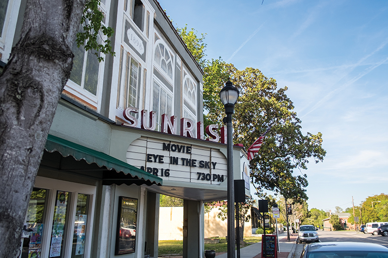 Sunrise Theater in Southern Pines