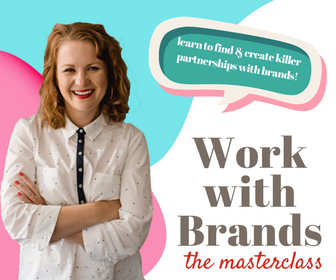Masterclass or Lite. - The Masterclass will take you through my start to finish process of finding brands to work with, pitching, getting contracts, and turning the relationship into long-term partnerships.The LITE version is perfect for newer or smaller bloggers looking to simply understand how to create content that brands love. Perfect for working with influencer networks.