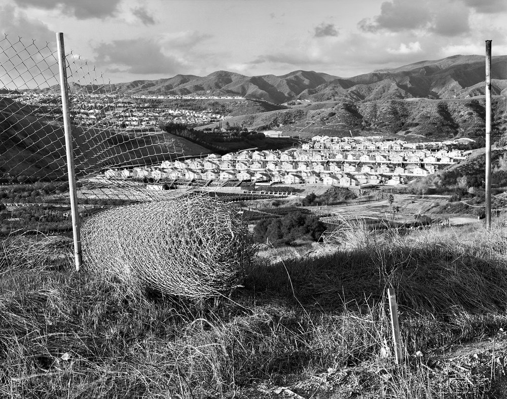 Rental Fence, Rancho Santa Margarita, California, 1996.