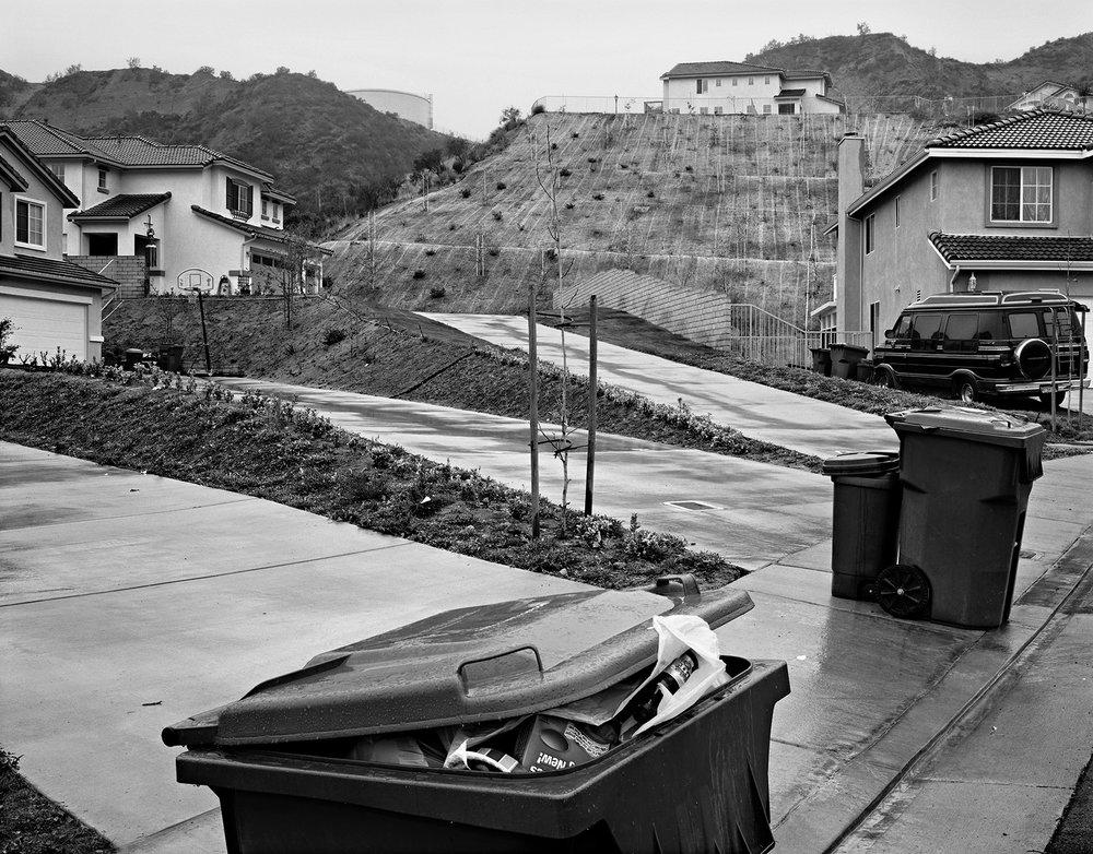 Garbage Day, Castaic, California, 2001.