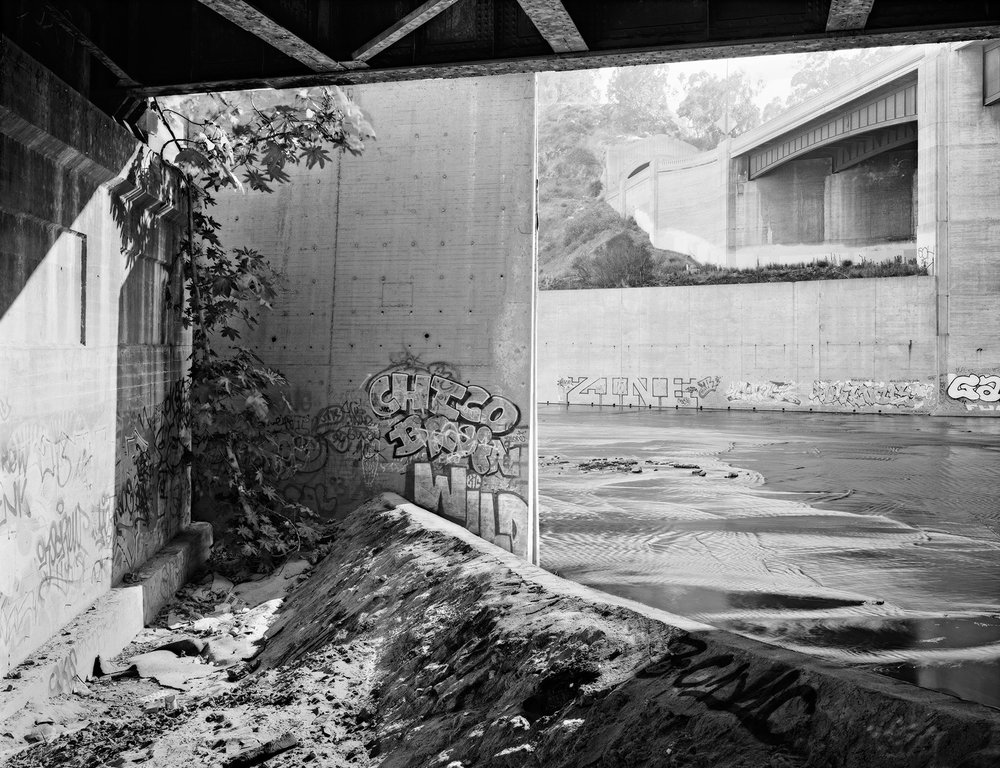 Beneath the 5 Freeway, Los Angeles River, California,1995.