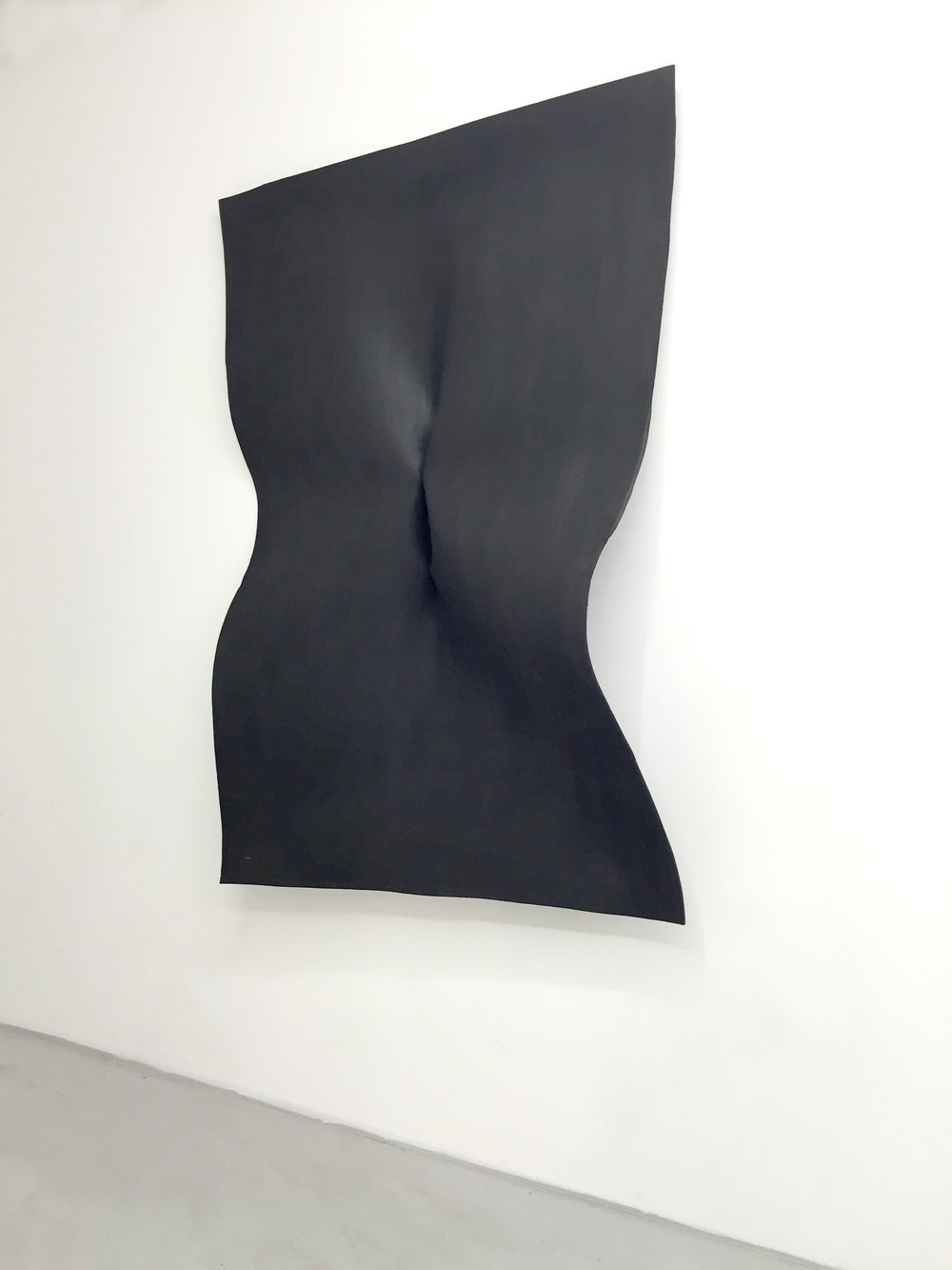 Mahsa Karimizadeh  Untitled  From the Pinch series  2016  Sculpture, unique piece  Foam   130cm x 90cm
