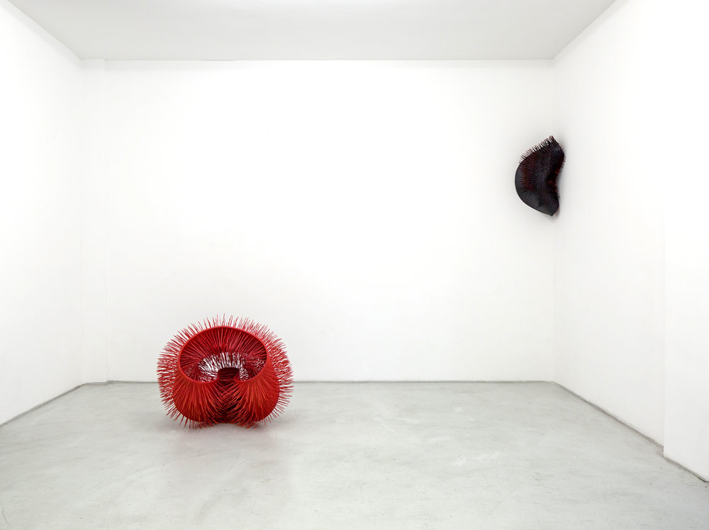 Mahsa Karimizadeh  Installation view Art House Düsseldorf  2016