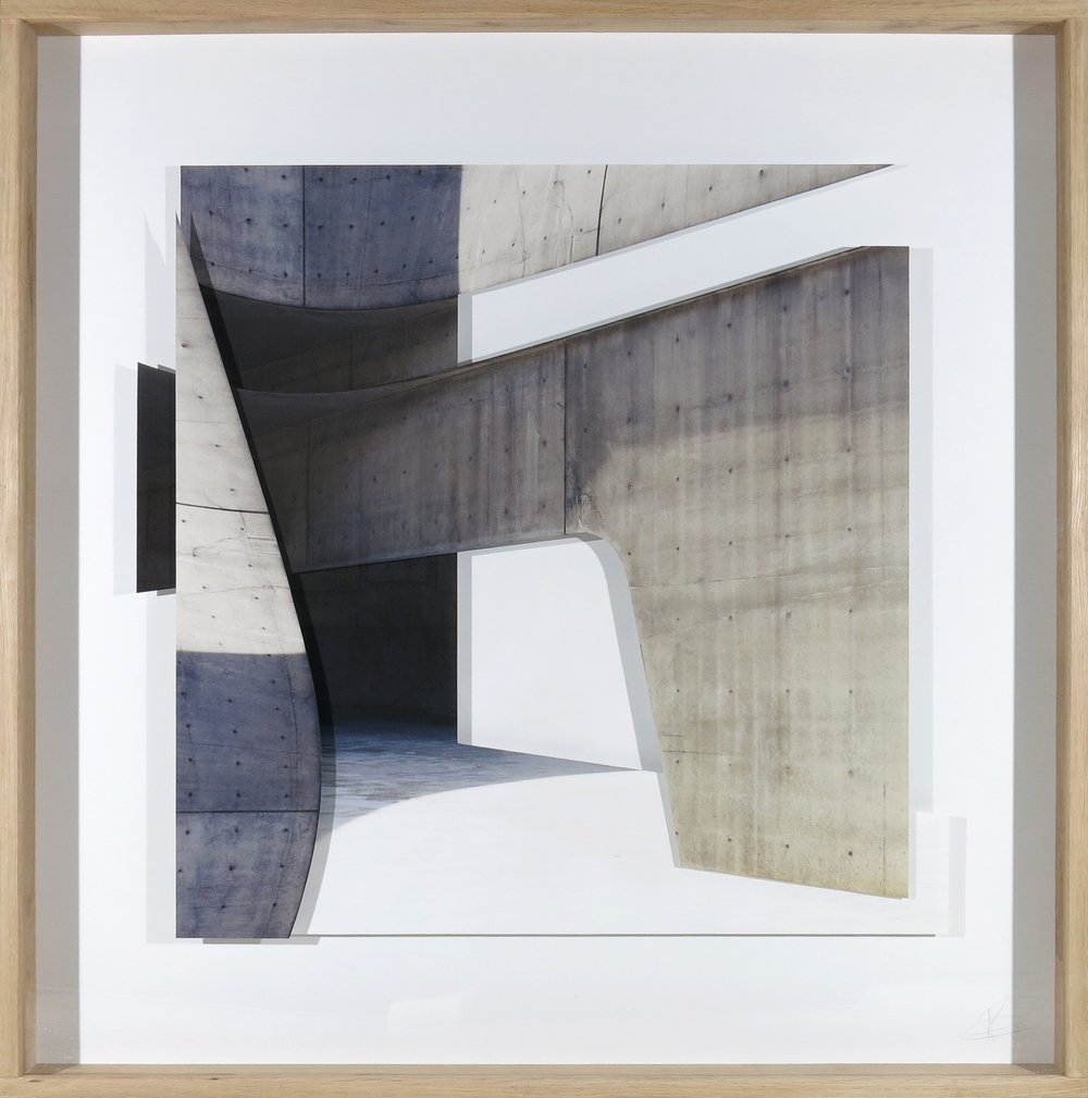 Patrik Grijalvo 'Zaga Hadid', 150x150cm, Series Gravitación Visual, 150 x 150 cm, Analogic photography made with Hasselblad camera with medium format, with Portra 400 film, digitalized and printed on Hahnemühle Fine Art Photo Rag with pigmented inks