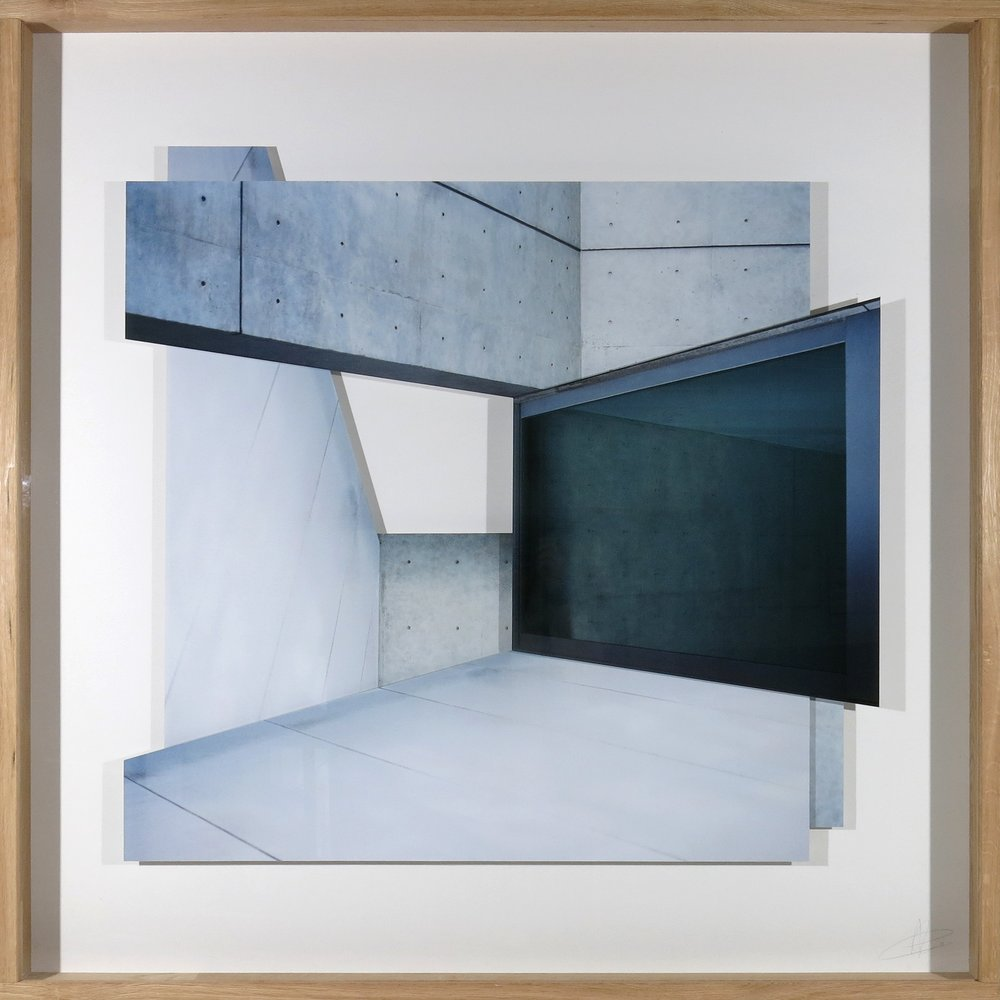 """""""Tadaoando"""", Series Gravitación Visual, 150 x 150 cm, Analogic photography made with Hasselblad camera with medium format, with Portra 400 film, digitalized and printed on Hahnemühle Fine Art Photo Rag with pigmented inks"""