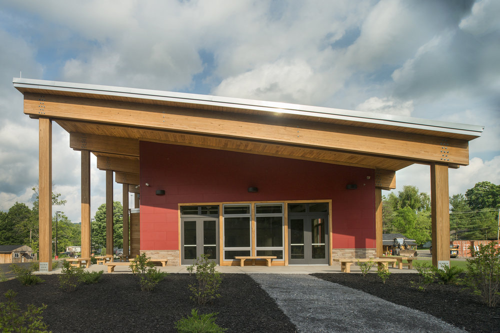 ONONDAGA NATION FIRE STATION - AIA Central New York - 2015 Award of Excellence (2015)