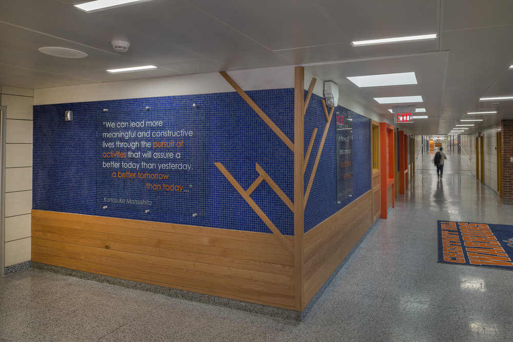 CHESTNUT HILL MIDDLE SCHOOL<strong>Extensive building renovation</strong>