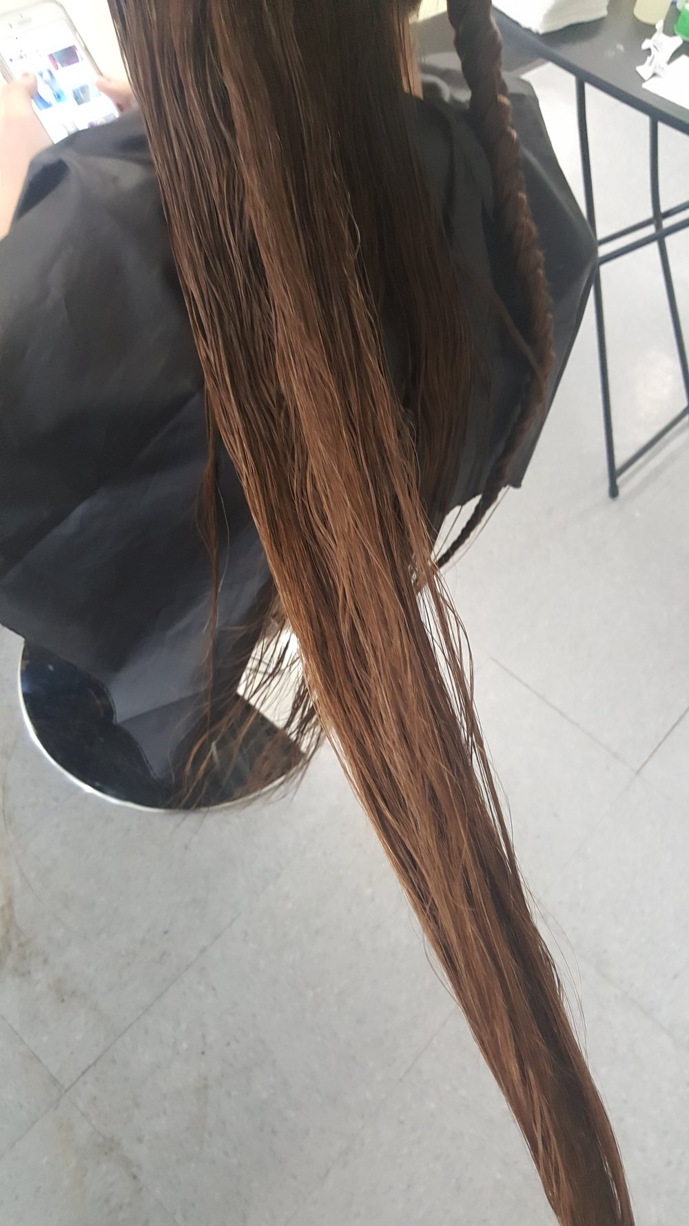 I Have Long HAIR! - And, I'm Lice Free….
