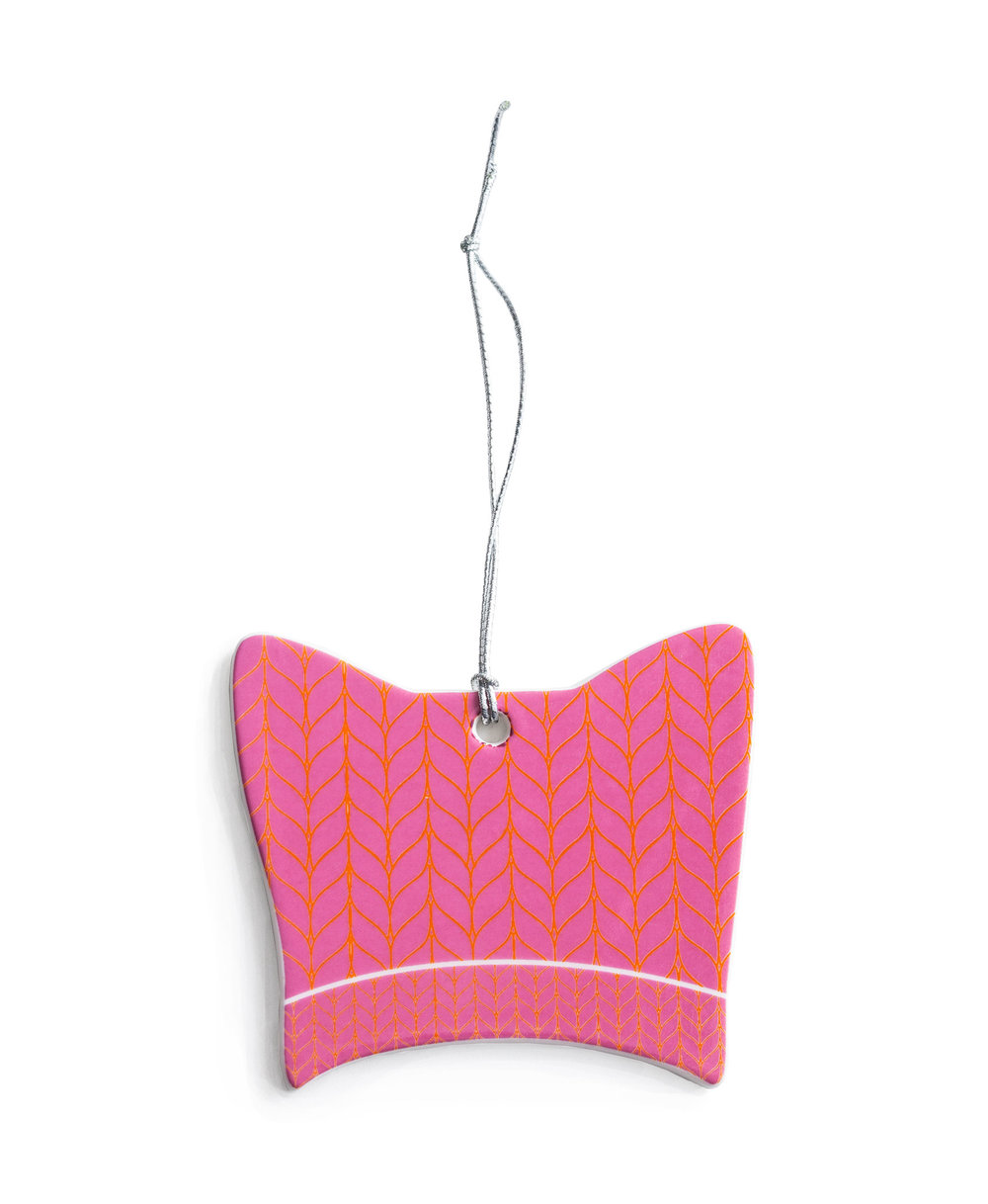 Pink Hat Ornament I $14.95