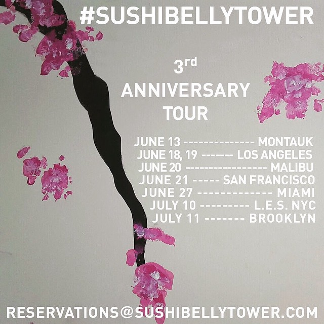 #sushibellytower is back... If you've never treated yourself to a night of dining at Michael Stember's underground sushi club, you should. For a taste, check out the post + pics on #feedyourboss (link in bio) -- or at http://bit.ly/1C1xNJU ... 🍣🙏🏼